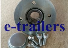 Trailer hub 100mm PCD BAH-0116 sealed bearing -fits Ifor Williams P6e P7 knott